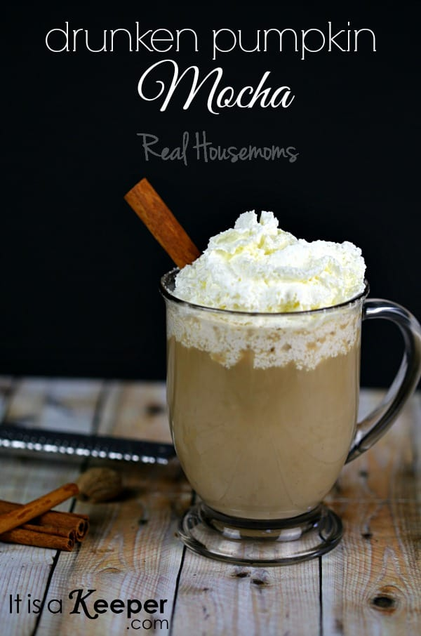 Drunken Pumpkin Mocha | Real Housemoms
