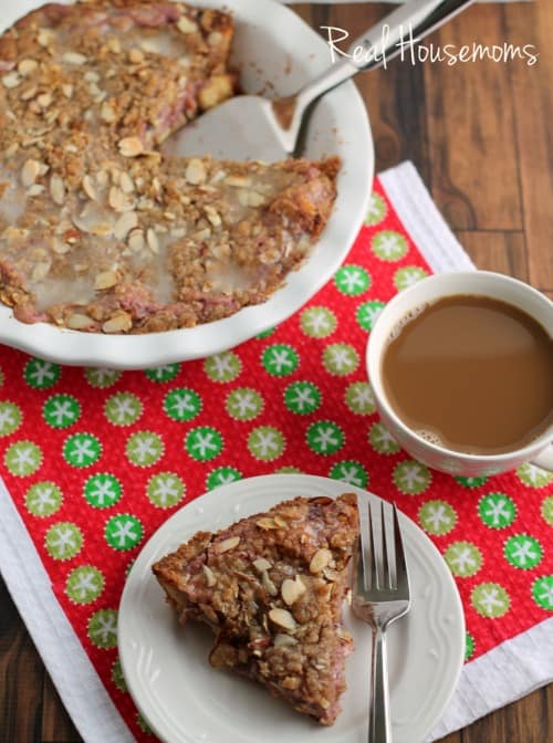 Easy Cranberry-Almond Cream Cheese Coffee Cake | Real Housemoms