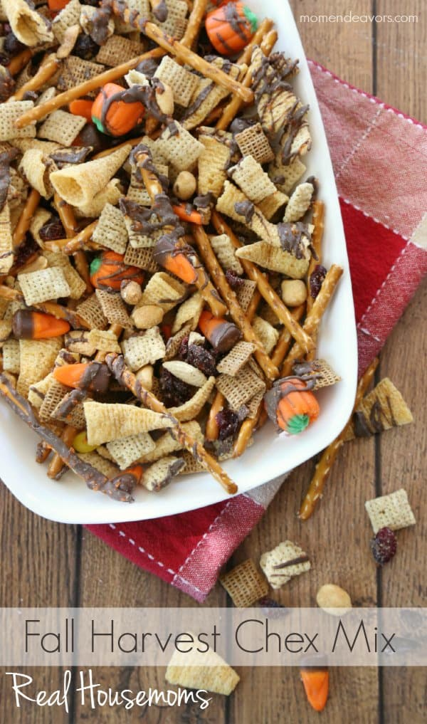 Fall Harvest Chex Mix | Real Housemoms