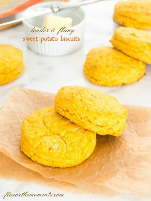 Flaky Sweet Potato Biscuits