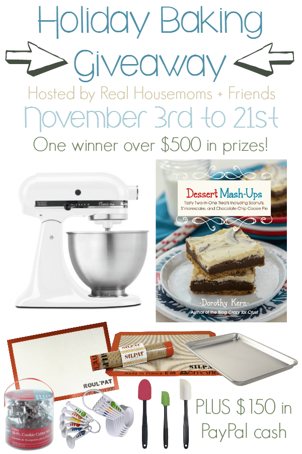 Holiday Baking Giveaway | Real Housemoms