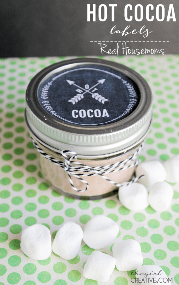 Hot Cocoa Labels | Real Housemoms
