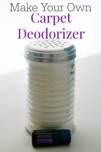 Make this all natural low odor carped deodorizer in minutes, it really works and the scent is not overpowering