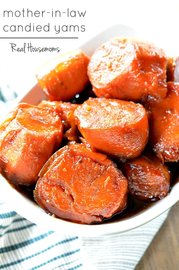 Mother in Law Candied Yams | Real Housemoms