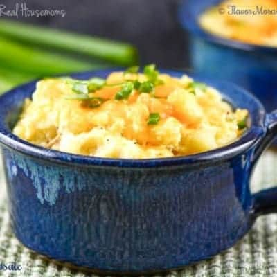Twice Baked Mini Potato Casseroles