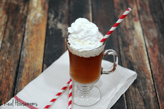 Try a Whipped Hot Toddy for a delicious twist on a classic hot cider!
