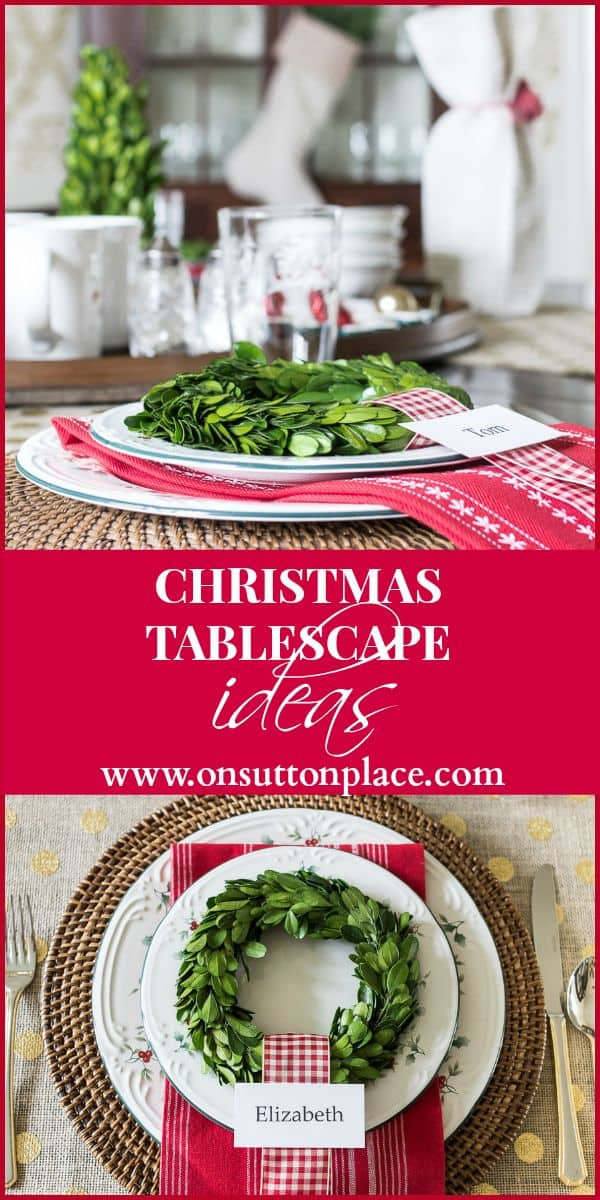Winterberry Christmas Tablescape