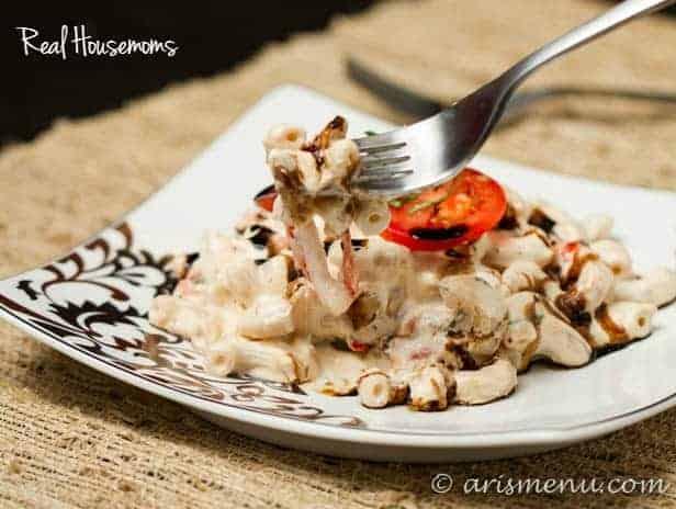 Caprese Mac & Cheese | Real Housemoms