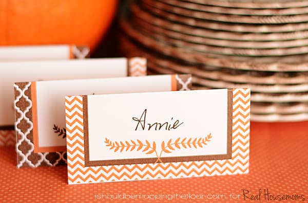 picture relating to Free Printable Name Cards named Cost-free Printable Thanksgiving Placecards ⋆ Genuine Housemoms
