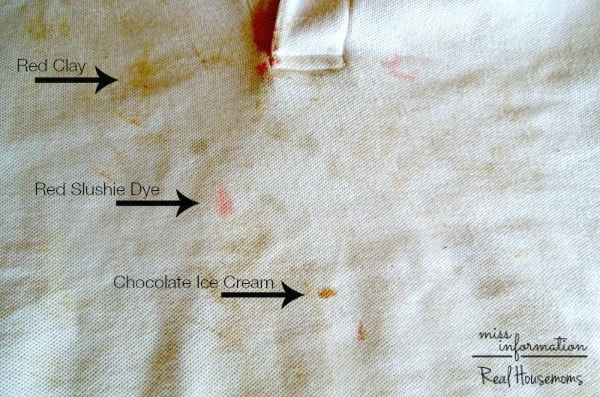 Printable Laundry Stain Remover Chart | Real Housemoms