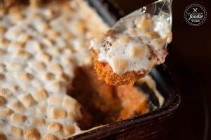 Krissy's Sweet Potato Casserole | Self Proclaimed Foodie
