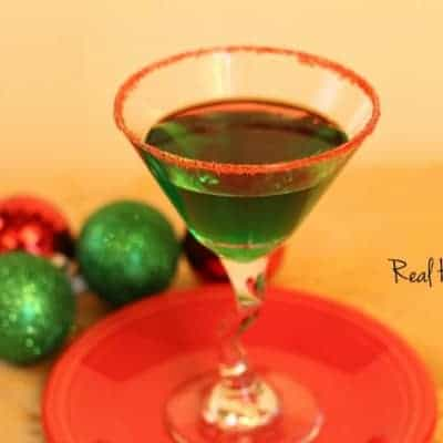 Mistletoe Mint Martini