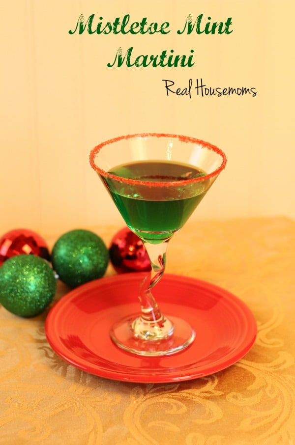 Mistletoe Mint Martini | Real Housemoms