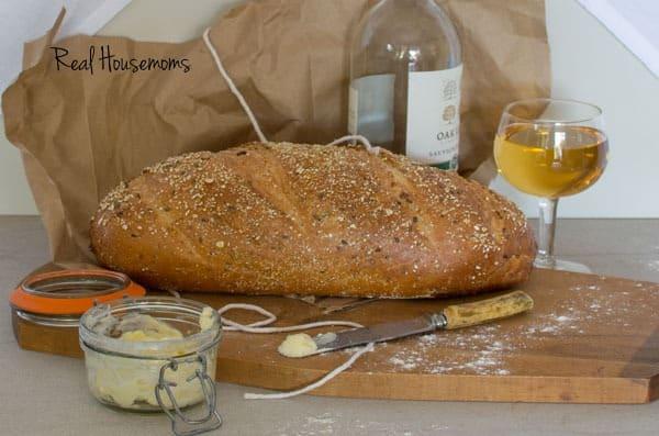 DIY Painted Bread Cloth | Real Housemoms