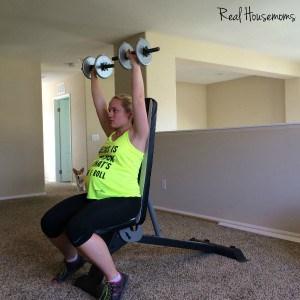 shoulder press up