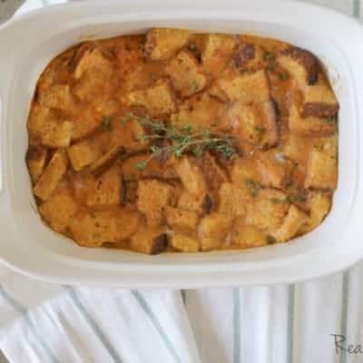 Breakfast Sweet Potato Casserole