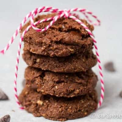 Nutty Triple Chocolate Cookies
