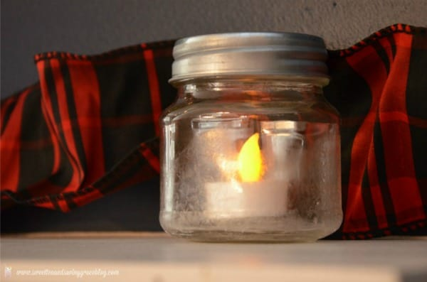 Salt Crystal Frosted Candle Jars | Real Housemoms