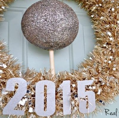New Year's Eve Wreath