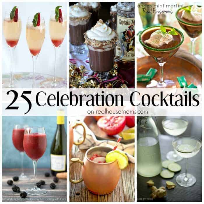 25 Celebration Cocktails SQUARE