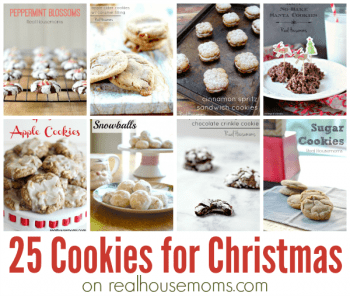 25 Cookies for Christmas in post