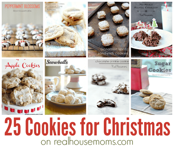 25 Cookies for Christmas | Real Housemoms
