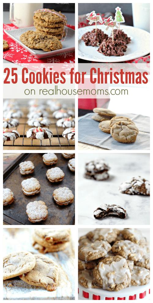 25 Cookies for Christmas on realhousemoms.com