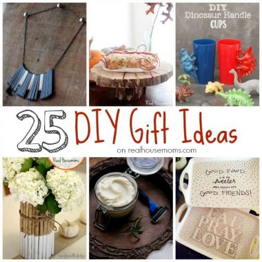 25 DIY Gift Ideas, photo collage