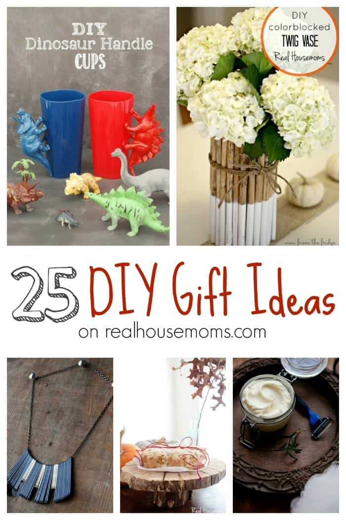 25 DIY Gift Ideas | Real Housemoms