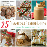 25 Gingerbread Flavored Recipes