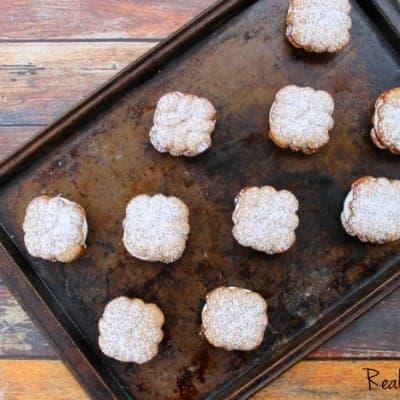 Cinnamon Spritz Cookie Sandwiches