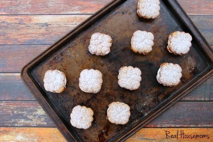 Cinnamon Spritzer Sandwich Cookies | Real Housemoms