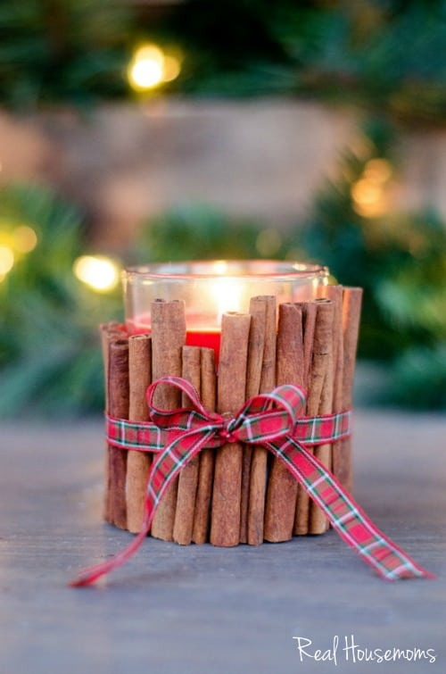Cinnamon Stick Holiday Candle | Real Housemoms