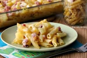 Ham and Pineapple Pasta Bake FEAT