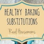 Healthy Baking Substitutions for the New Year