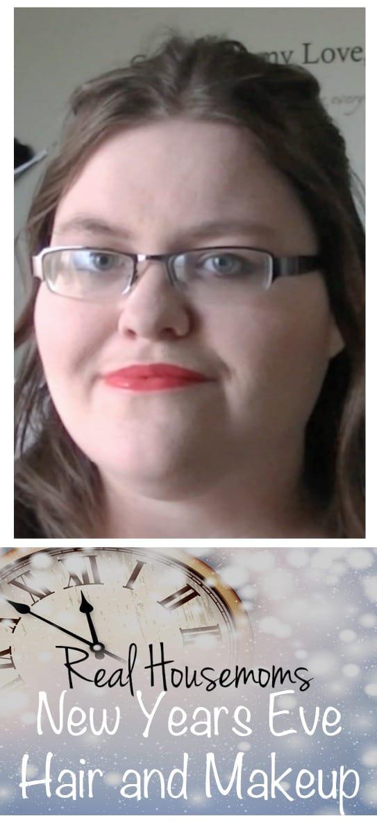 New Year's Eve Hair & Makeup   Real Housemoms