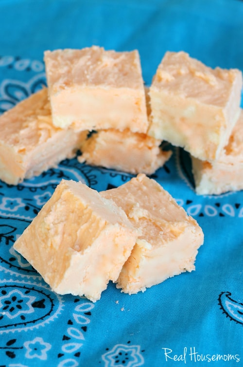Orange Creamsicle Fudge | Real Housemoms