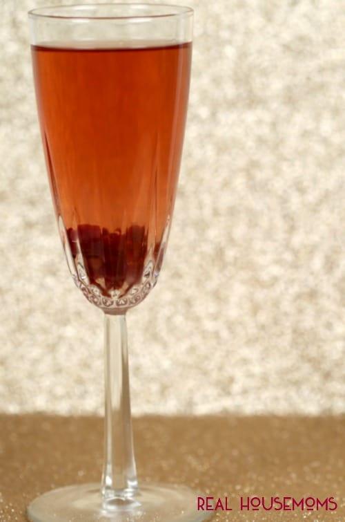 Pomegranate Spritzer   Real Housemoms