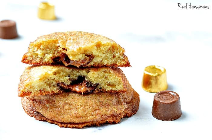 Rolo Filled Snickerdoodles | Real Housemoms