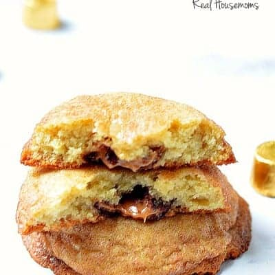 Rolo Filled Snickerdoodles