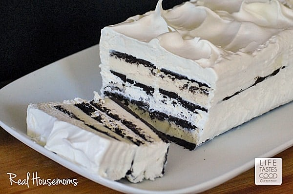 Easy Ice Cream Sandwich Cake | Real Housemoms