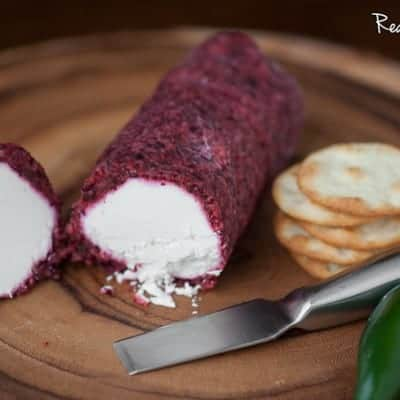 Cranberry Jalapeño Cheese Log