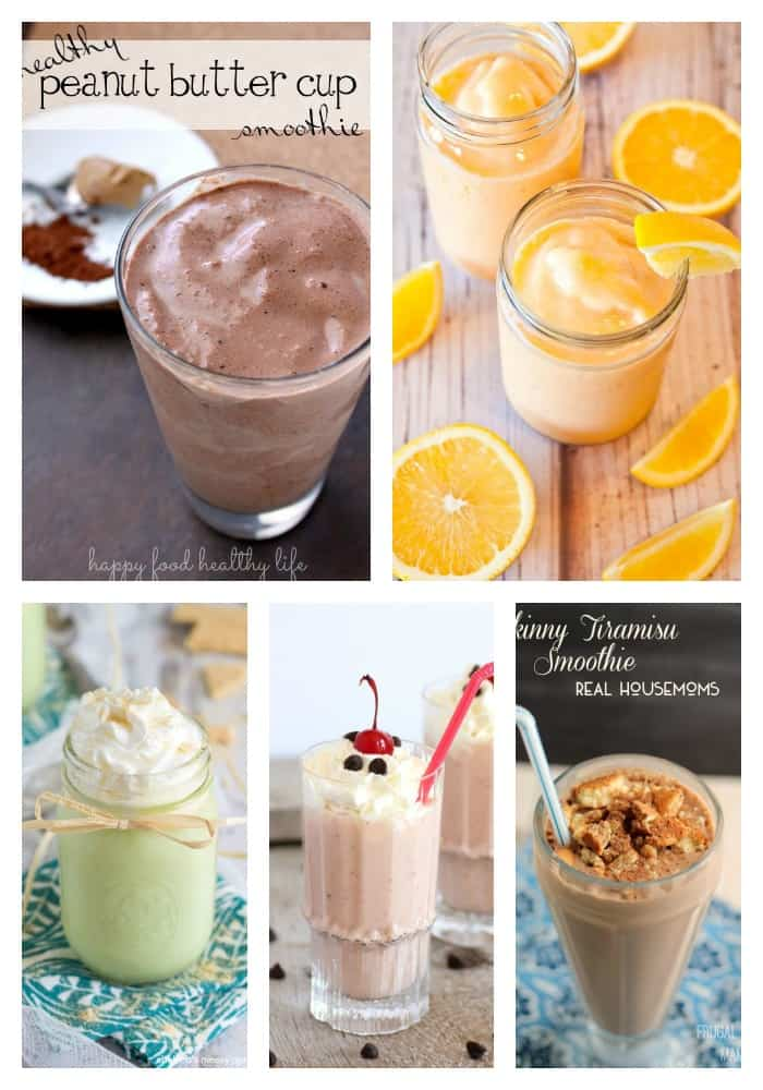 2 Dessert Smoothies
