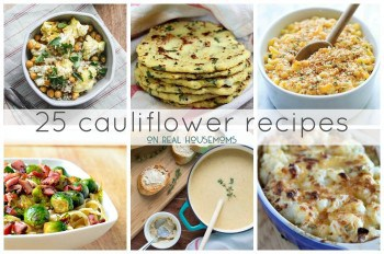 25 Cauliflower Recipes FEAT