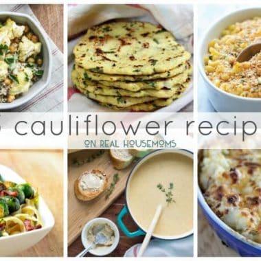 25 Cauliflower Recipes