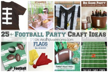 25+ Football Party Craft Ideas FEAT