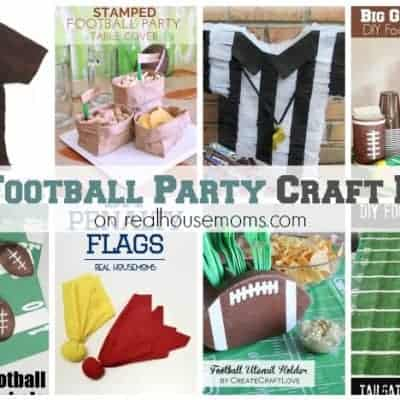 25+ Football Party Craft Ideas