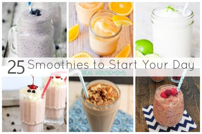 25 Smoothies to Start Your Day FEAT