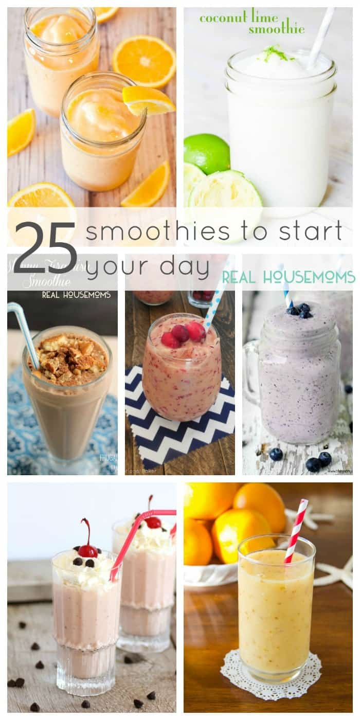 25 Smoothies to Start Your Day | Real Housemoms