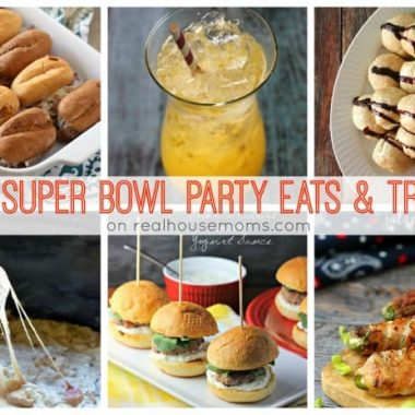 25 Super Bowl Party Eats & Treats. photo collage